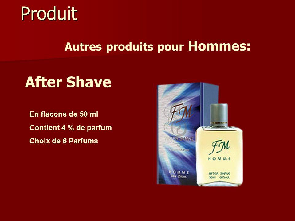 Produit Autres produits pour Hommes: After Shave En flacons de 50 ml Contient 4 % de parfum Choix de 6 Parfums