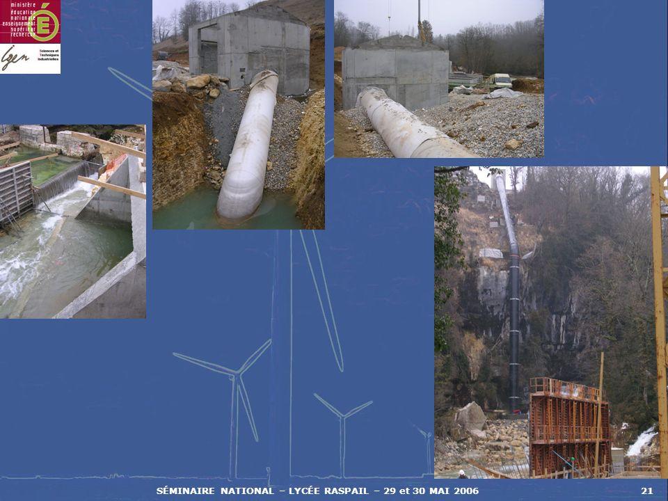 SÉMINAIRE NATIONAL – LYCÉE RASPAIL – 29 et 30 MAI 200621
