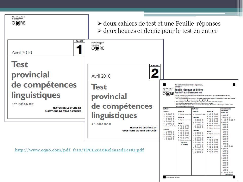 Tâches décriture questions à choix multiple, tâches décriture courte tâches décriture longues Nouvelle journalistique Texte dopinion