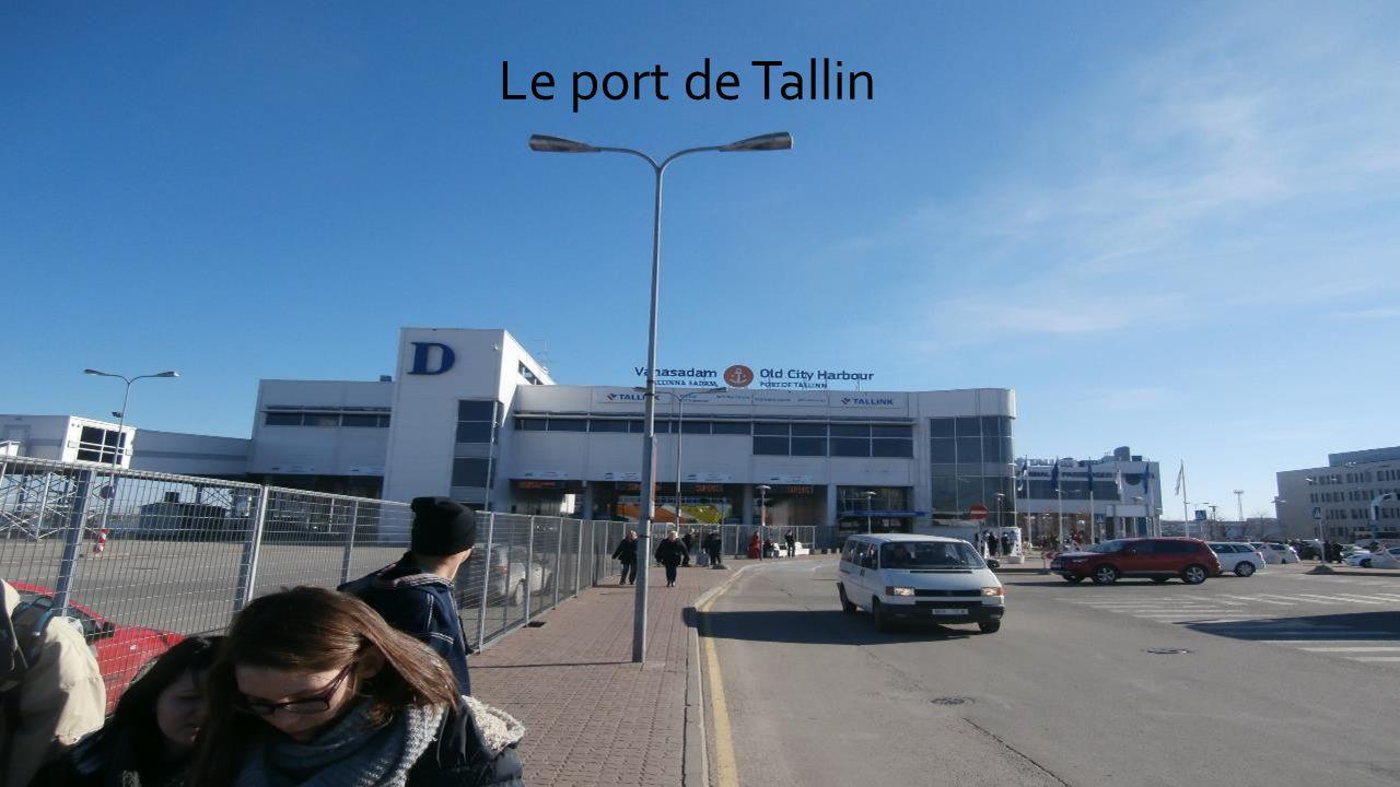 Le port de Tallin