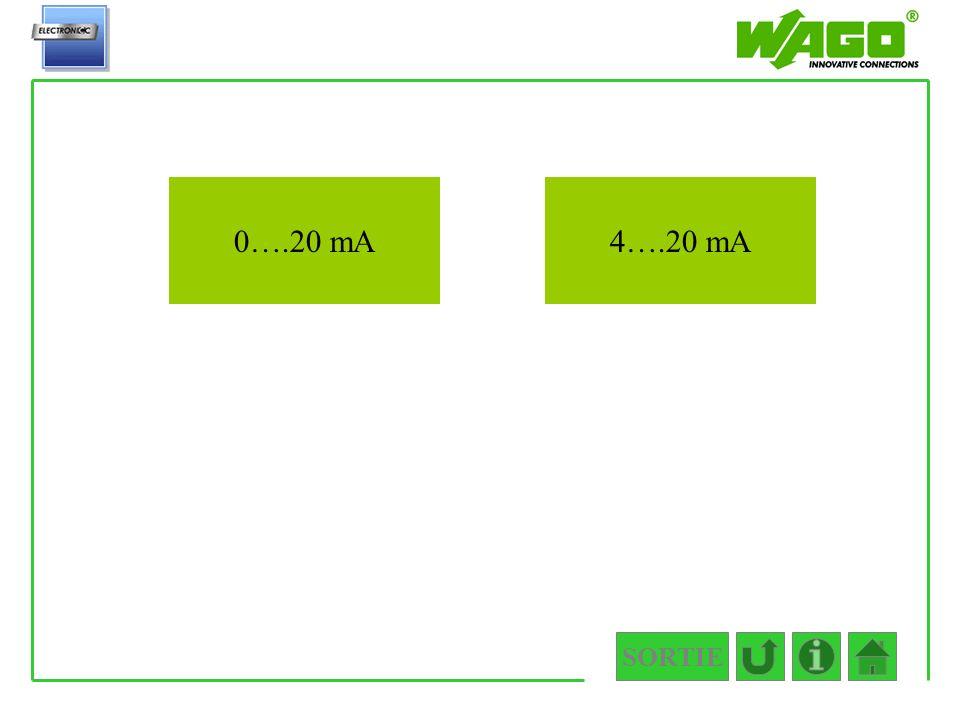 SORTIE 4.3.1 0….20 mA4….20 mA