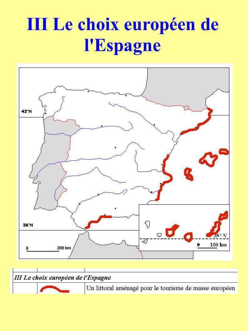 III Le choix européen de l'Espagne