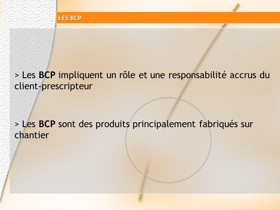Cas dun Béton à Composition Prescrite commandé au BPE Étude particulière Composition détaillée Contrôles de résistance par lutilisateur définis dans D