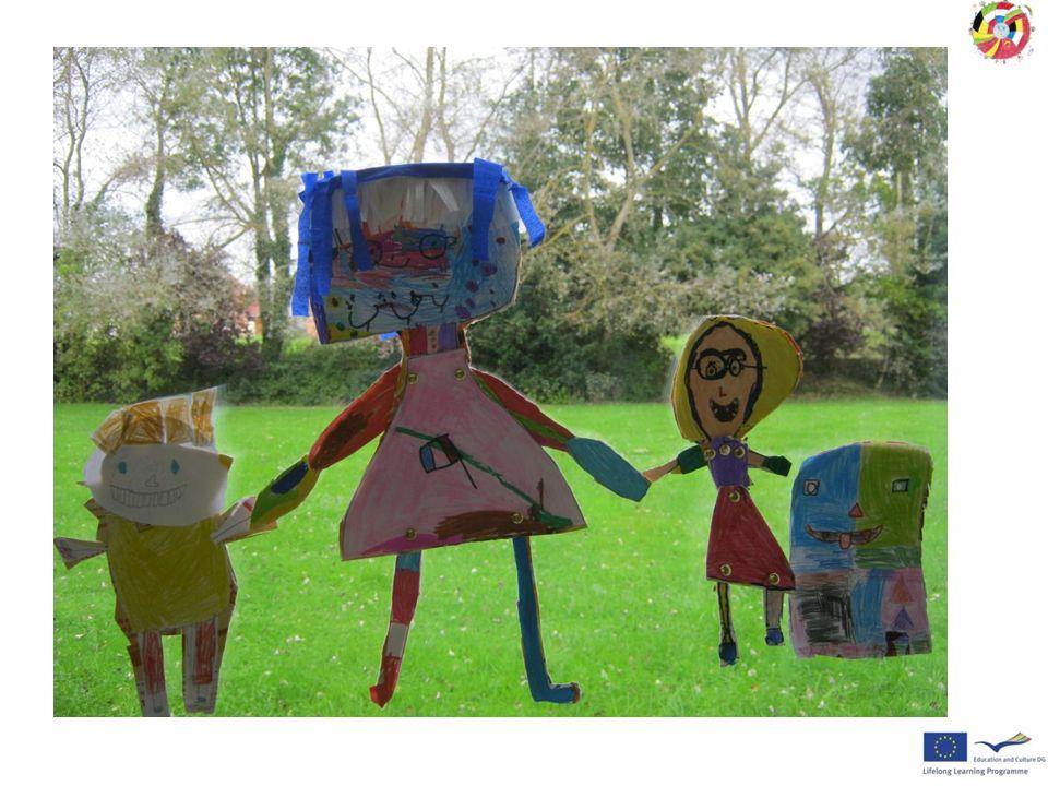 Classe de CE1 Les mascottes proposées sont des représentations de filles ou de garçons, et ……un cartable.