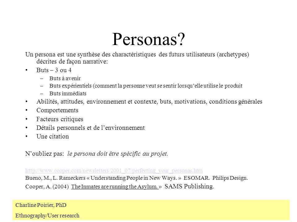 Personas.