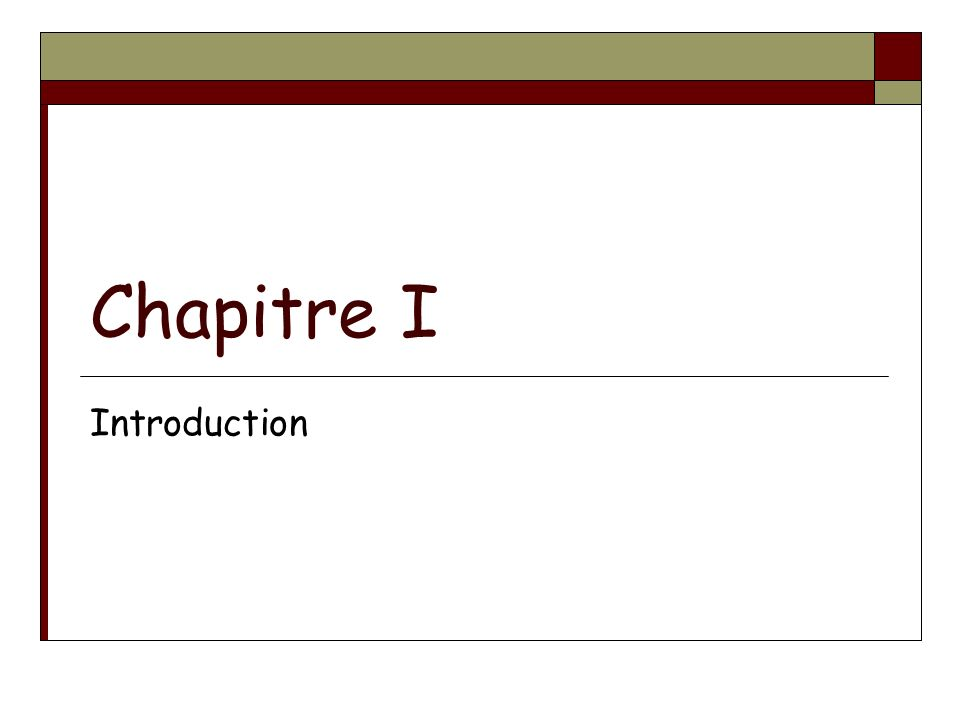 GénéricitéPOO-L3 H.Fauconnier275 Chapitre VII 1. Principes généraux 2.