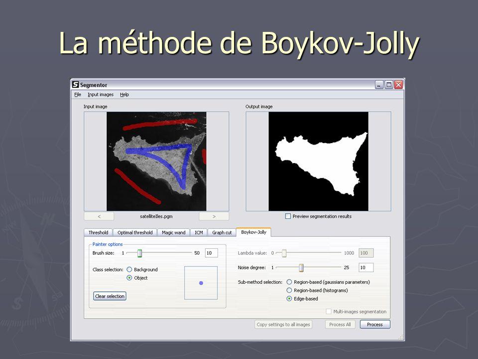 La segmentation 3D Récupère lapproche de la méthode Graph Cut.