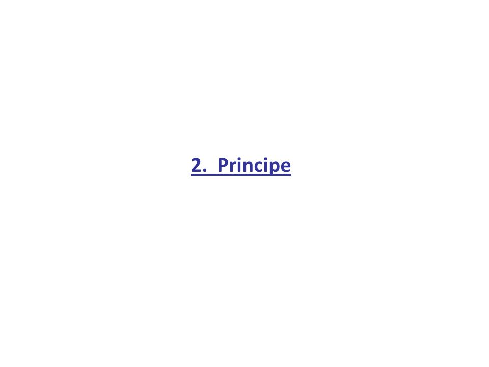 2. Principe