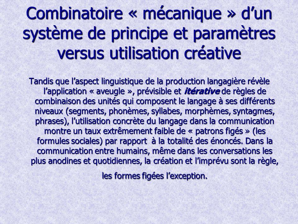 Créativité – un trait fondamental de lespèce humaine Une des propriétés caractéristiques de de la cognition humaine est la créativité, la capacité de la libre pensée et le besoin dexercer ces capacités.