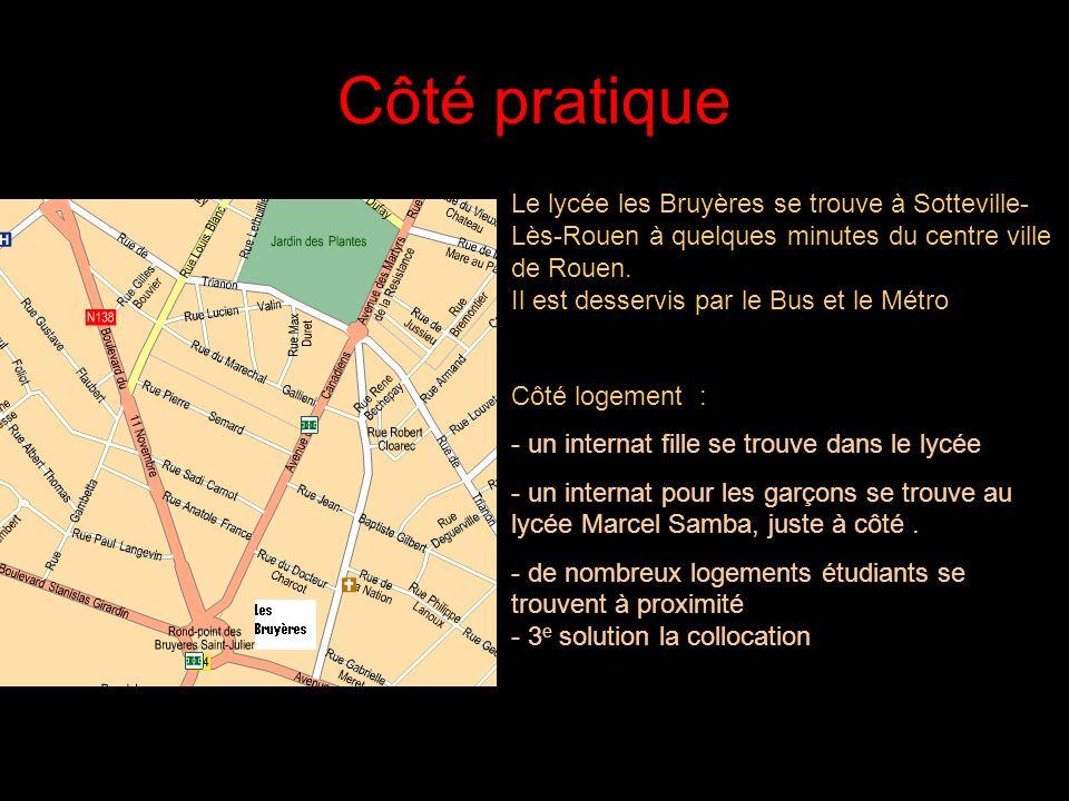 21/05/2014 Trois sites indispensables Le site du lycée des Bruyères –www.ac-rouen/lycee/bruyeres Le site des inscriptions –www.admission-postbac.fr Le
