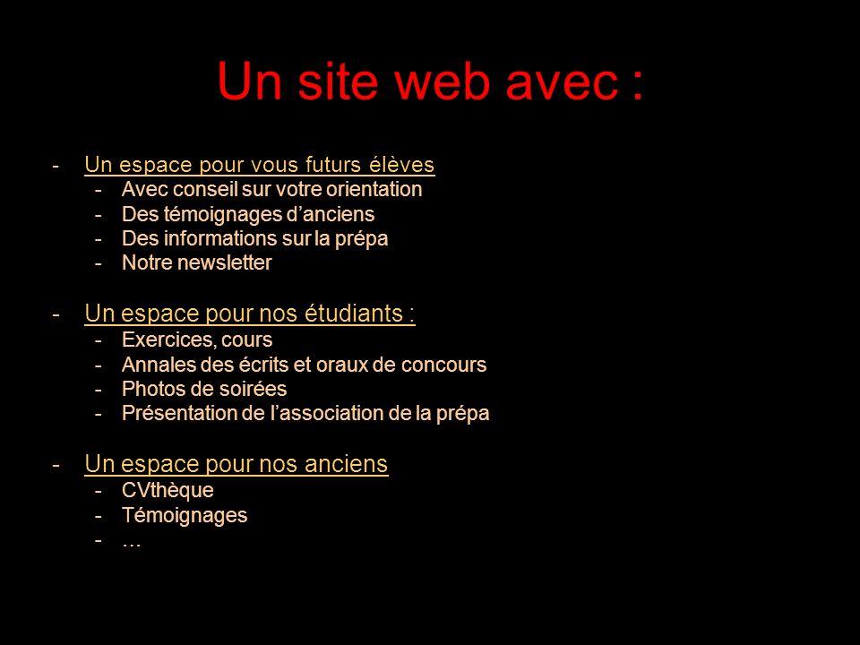 21/05/2014 La prépa cest aussi un site web