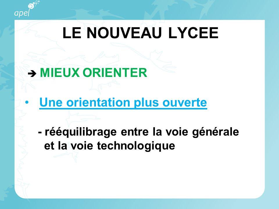LE NOUVEAU LYCEE Rentrée 2011 : réforme de la série STL 2 spécialités : biotechnologies sciences physiques et chimiques en laboratoires