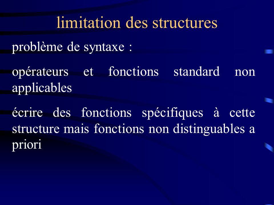 Fonctions spéciales un exemple avec un programme la classe Complexe avec plusieurs constructeurs c est parti !