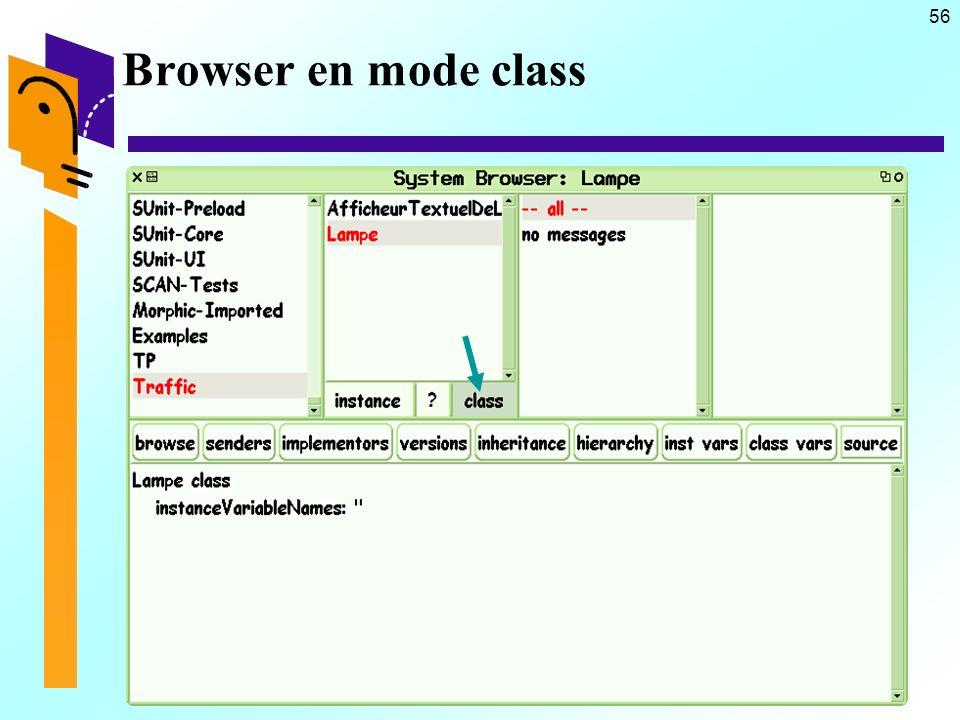 56 Browser en mode class