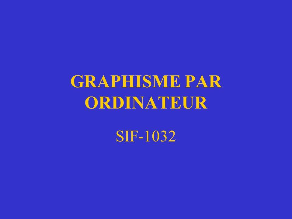 GRAPHISME PAR ORDINATEUR SIF-1032