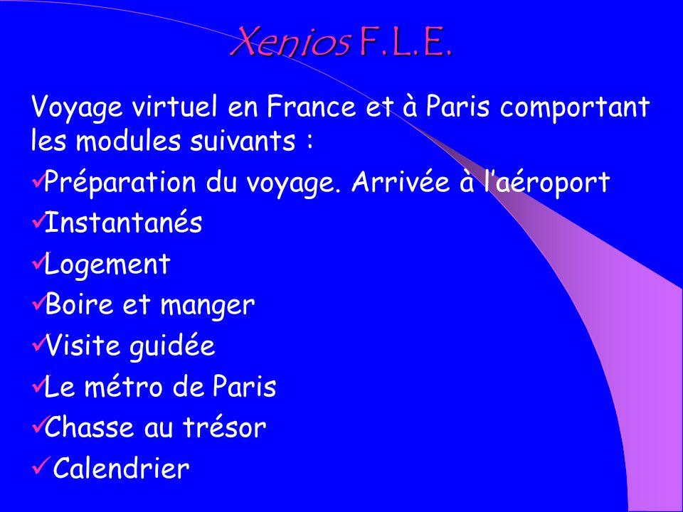 Activités éducatives de Xenios autour du même axe : « Voyage dans un pays étranger ».