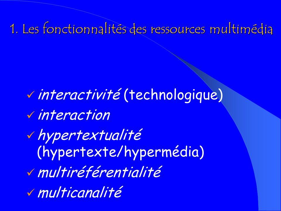 Caractéristiques dune e-activité 1.