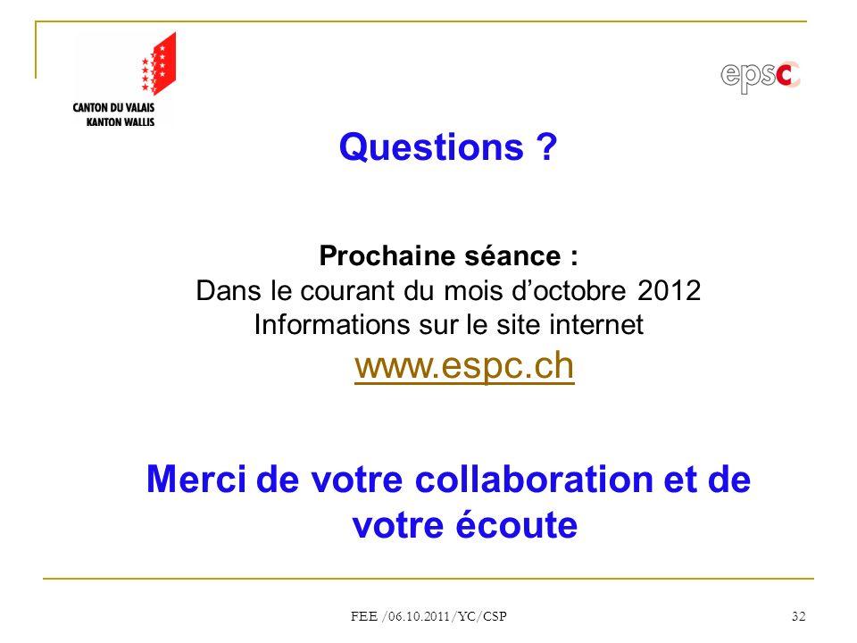 FEE /06.10.2011/YC/CSP 32 Questions .