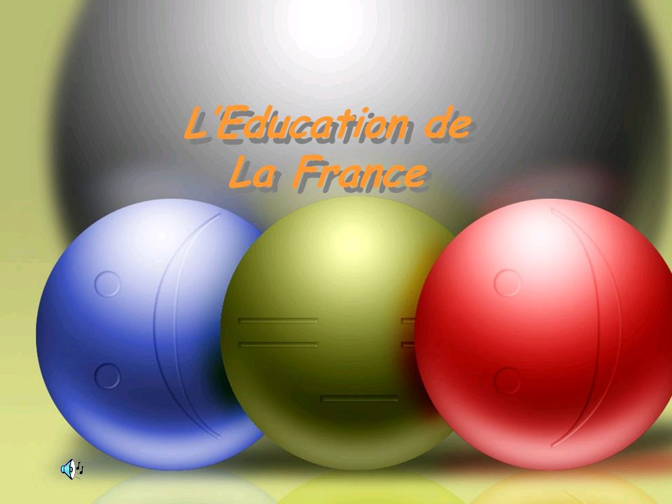 LEducation de La France