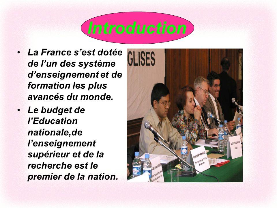 LEducation de La France