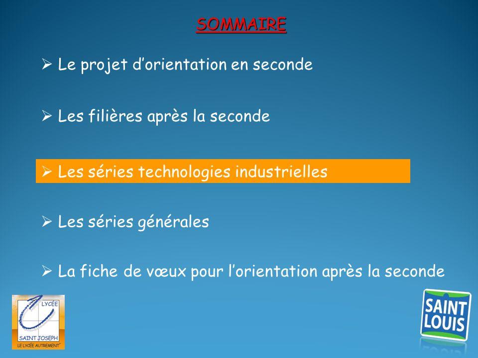 Le Bac STI 2D :