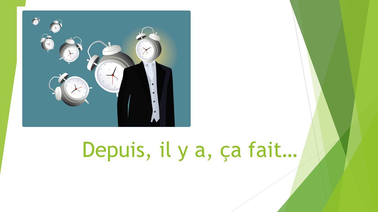 1.Q: Depuis combien de temps est- ce que tu étudies le français.