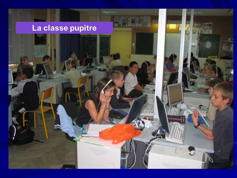 Le concept élève Dans une classe, chaque élève dispose, à chaque instant d'un ordinateur simplifié, d'un écran, d'un clavier et d'une souris.