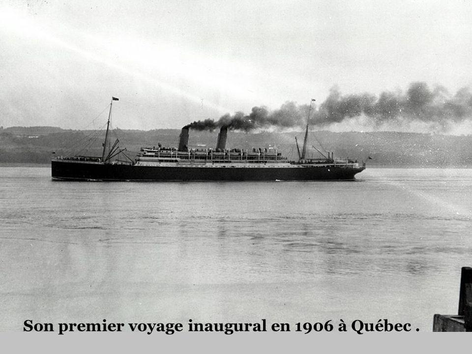 Lendroit du naufrage, le 29 mai 1914 à 11 kilomètres au large de Pointe-au-Père.