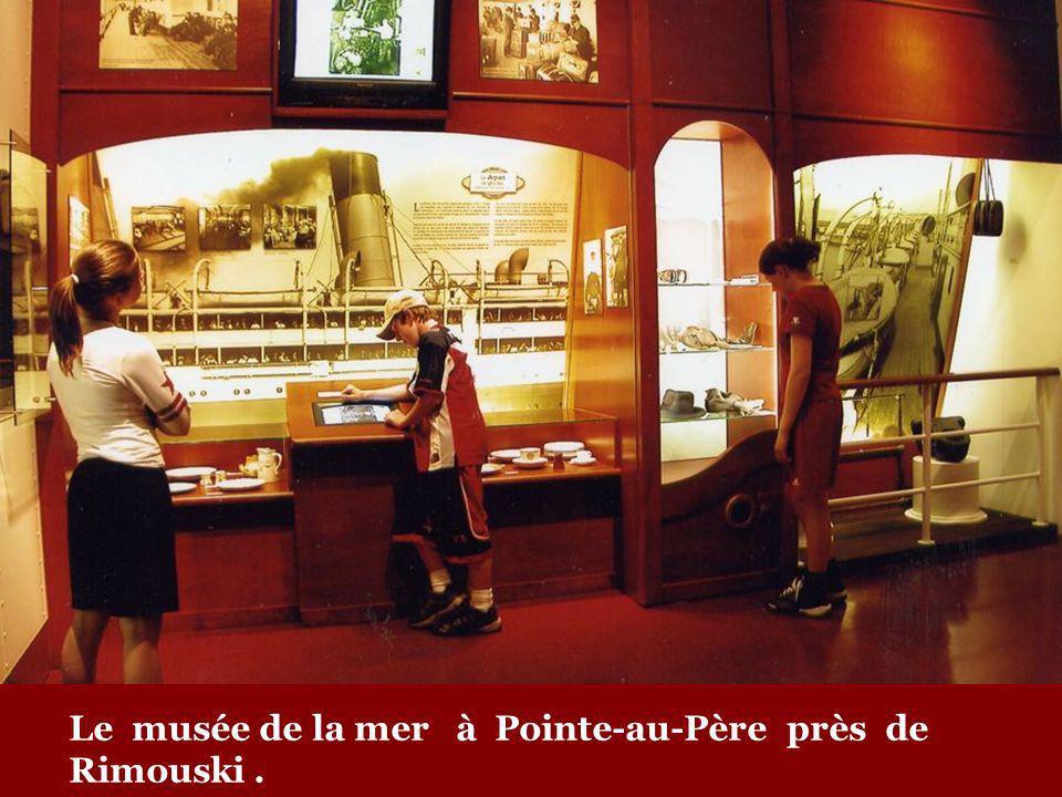 Pour en savoir plus, visitez le musée de la mer à Pointe-au-Père, à la mémoire des victimes de LEmpress of Ireland.