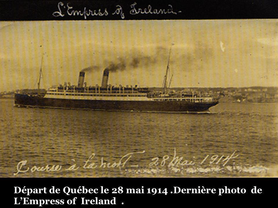 Devant Québec 1914.