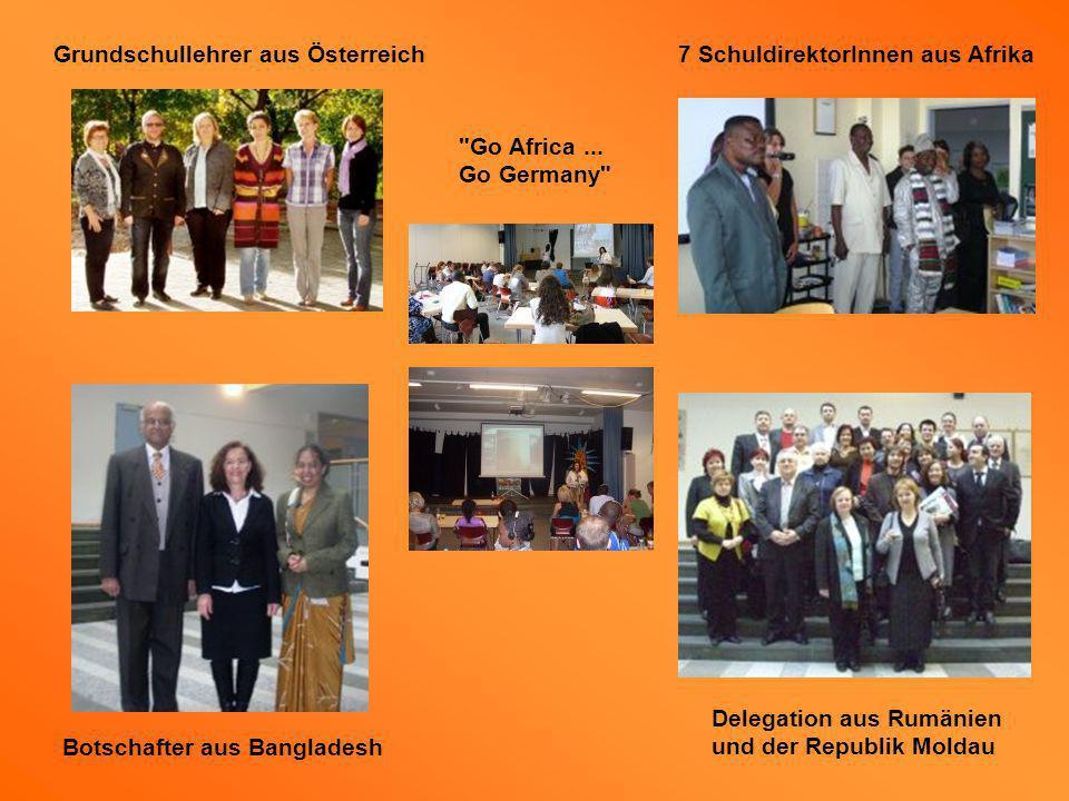 Grundschullehrer aus Österreich 7 SchuldirektorInnen aus Afrika