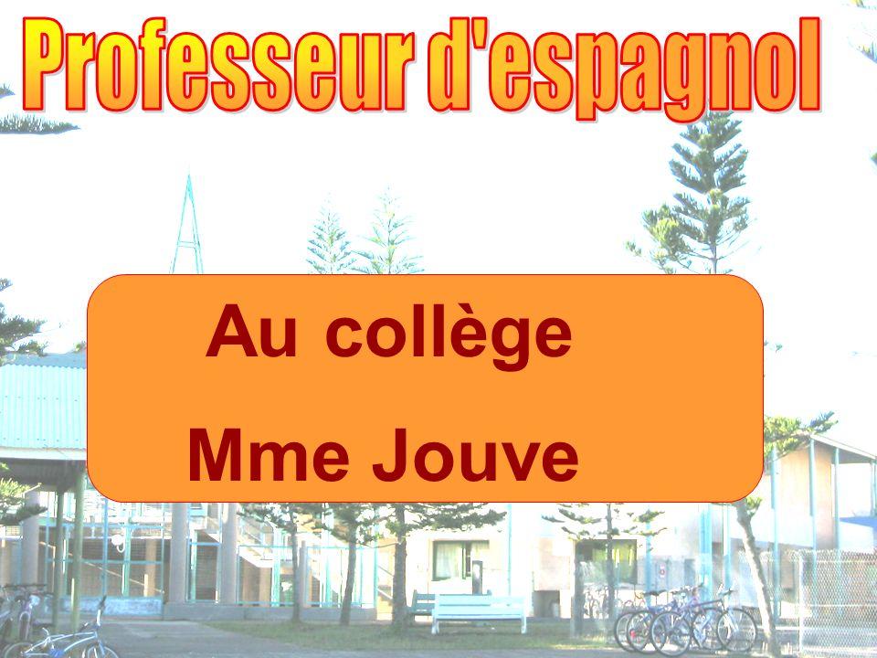 Au collège Mme Jouve