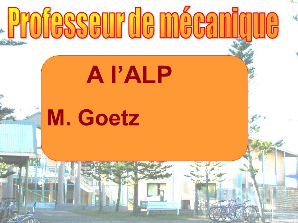 A lALP M. Goetz