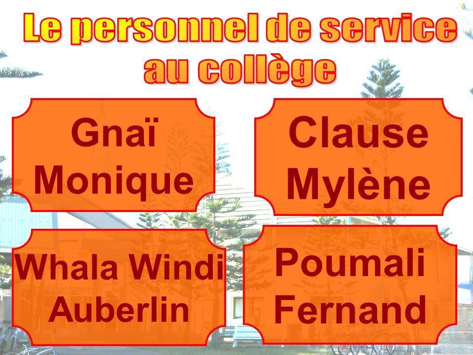 Whala Windi Auberlin Clause Mylène Gnaï Monique Poumali Fernand