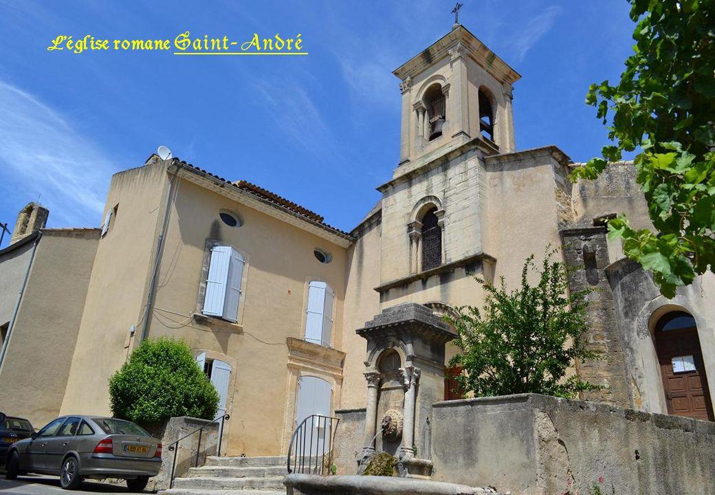 Léglise romane Saint- André