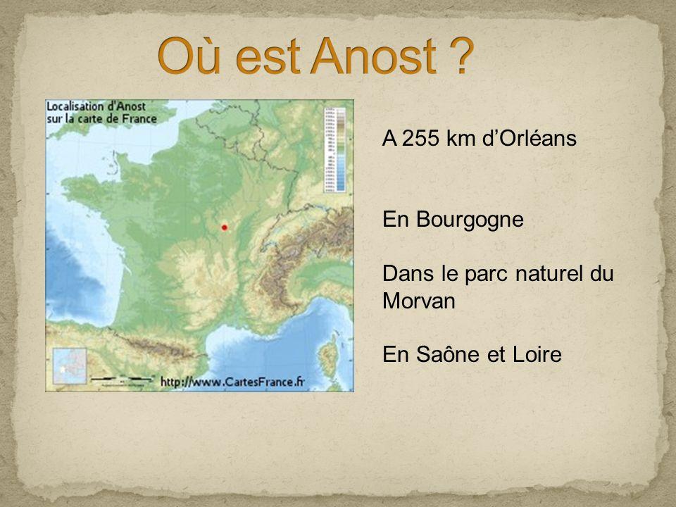 A 255 km dOrléans En Bourgogne Dans le parc naturel du Morvan En Saône et Loire