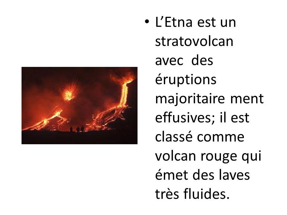 Avec plus de 80 éruptions au cours du siècle dernier, l?etna est un des volcans les plus actifs du monde