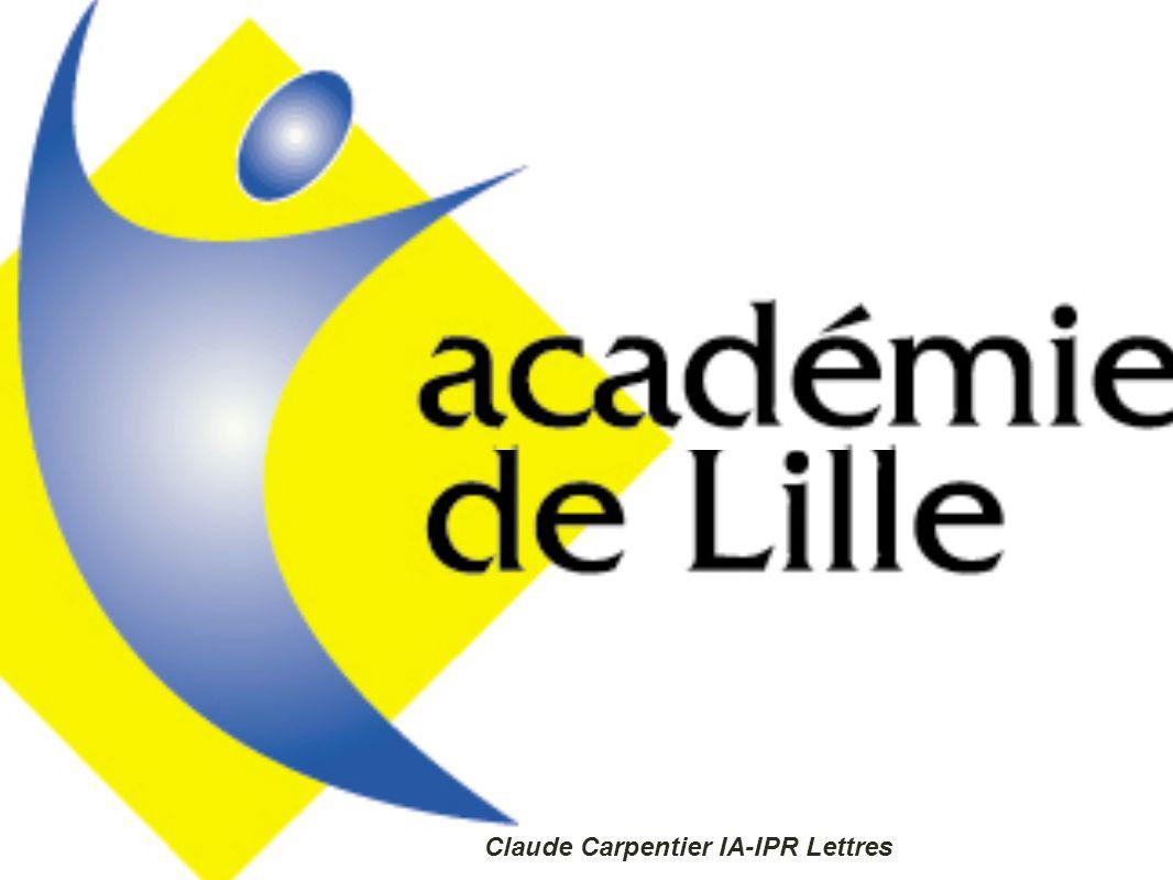 Compétences et classes « pupitres » Claude Carpentier IA-IPR Lettres