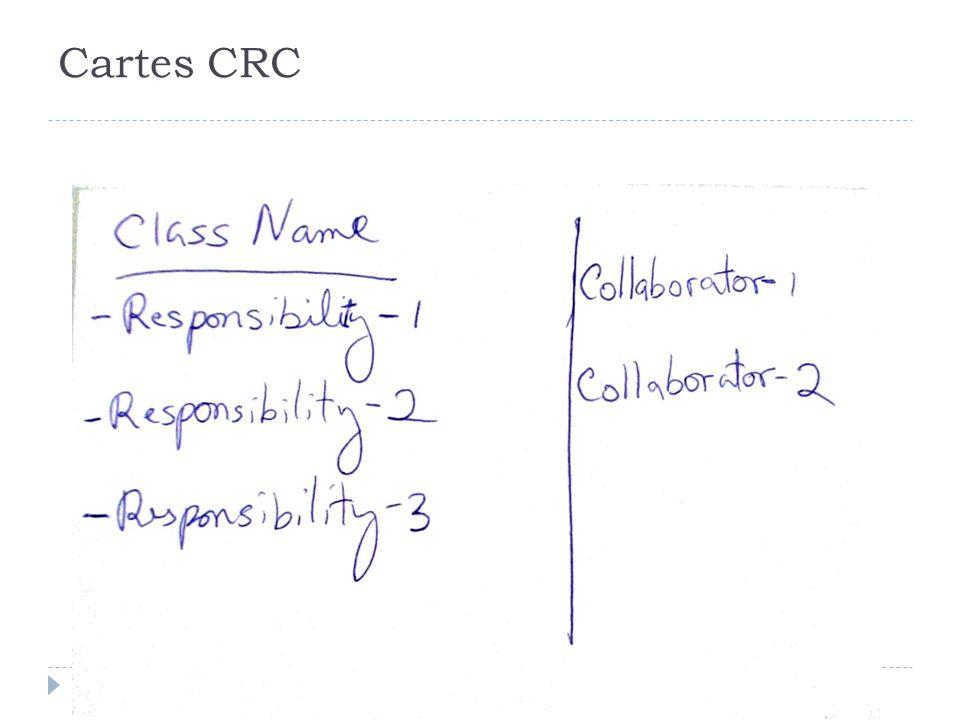 Cartes CRC