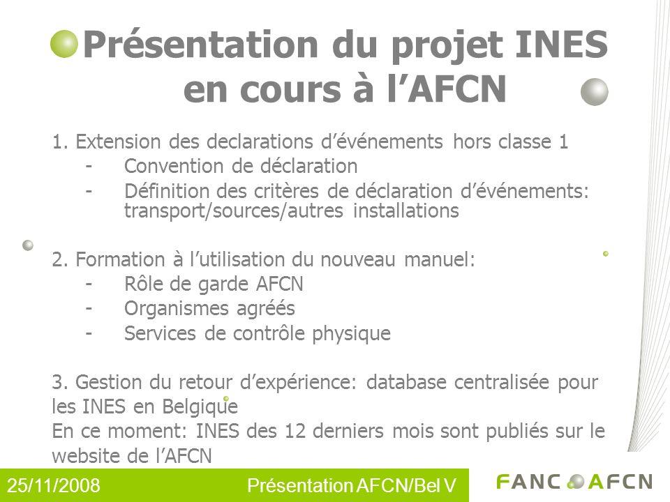 Présentation du projet INES en cours à lAFCN 1.