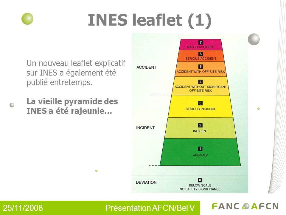 INES leaflet (1) Un nouveau leaflet explicatif sur INES a également été publié entretemps.