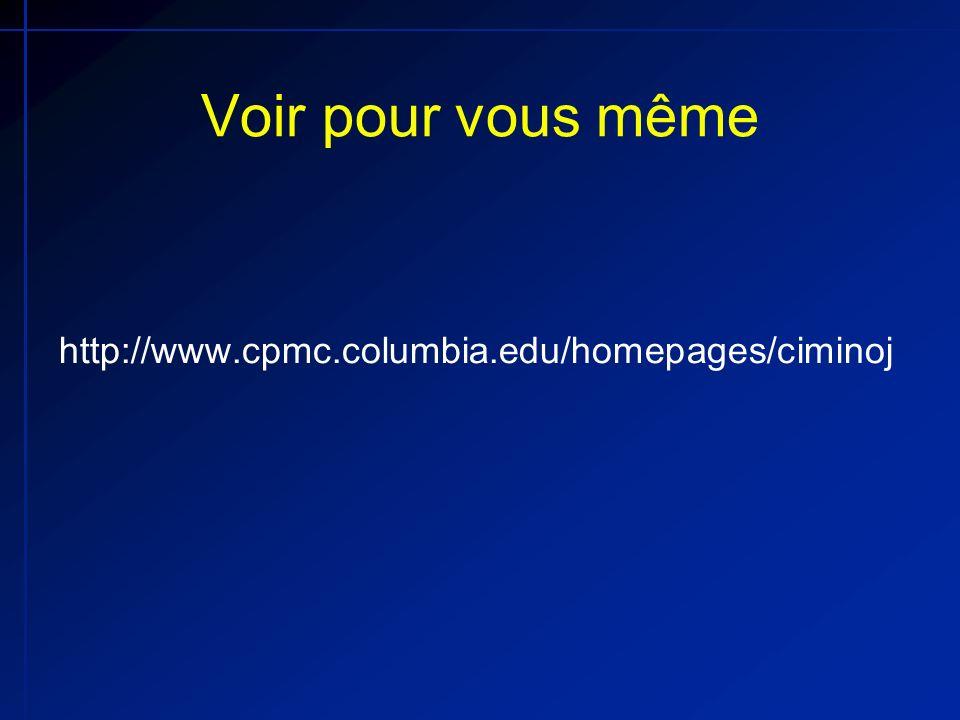 Voir pour vous même http://www.cpmc.columbia.edu/homepages/ciminoj