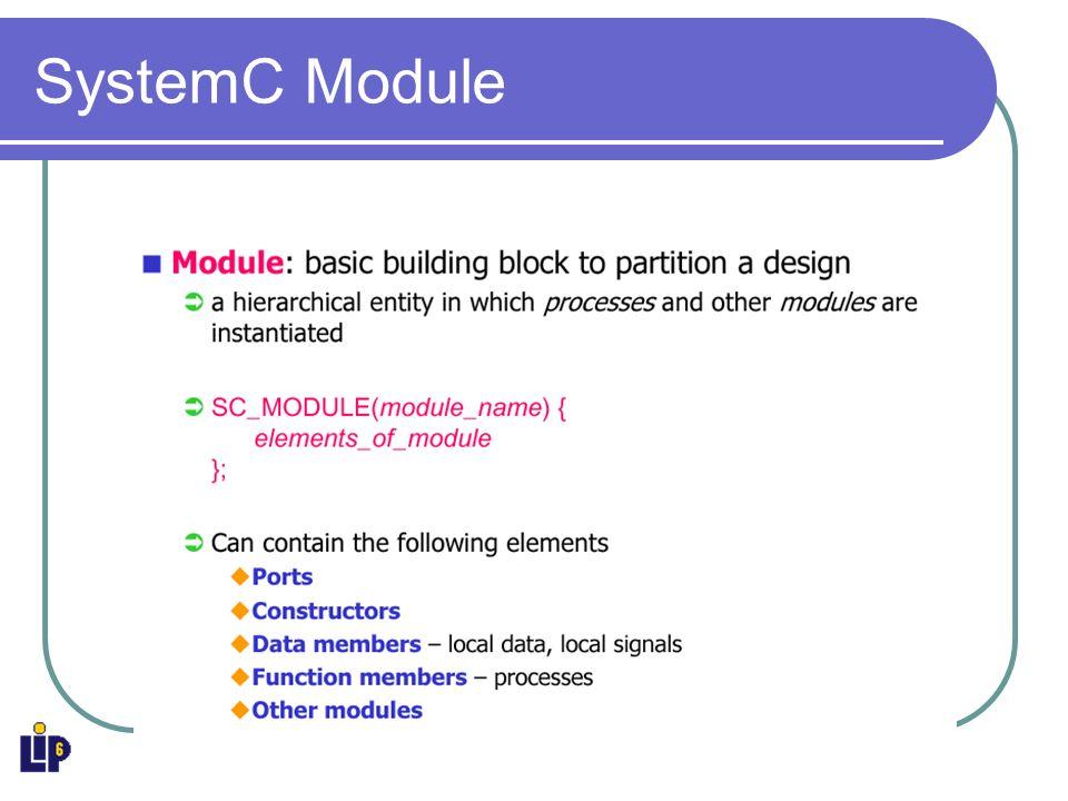 SystemC Module