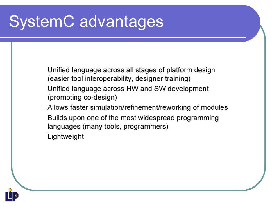 SystemC layered environment