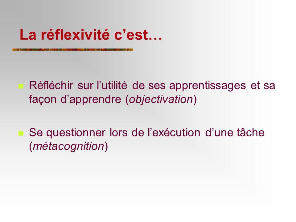 5e principe : Favoriser la réflexivité