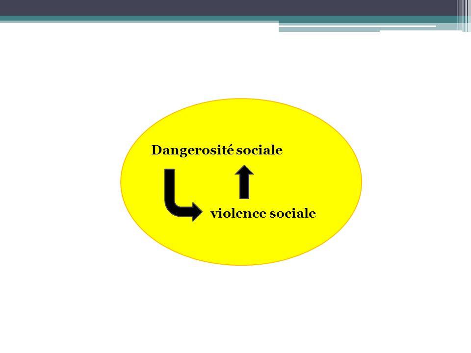 Dangerosité sociale violence sociale