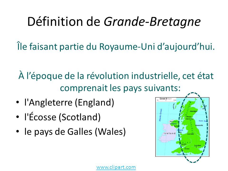 Définition de Grande-Bretagne Île faisant partie du Royaume-Uni daujourdhui.