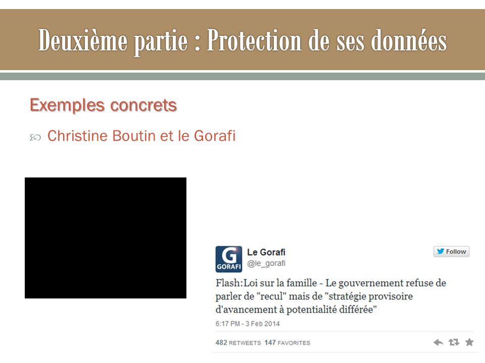Exemples concrets Christine Boutin et le Gorafi