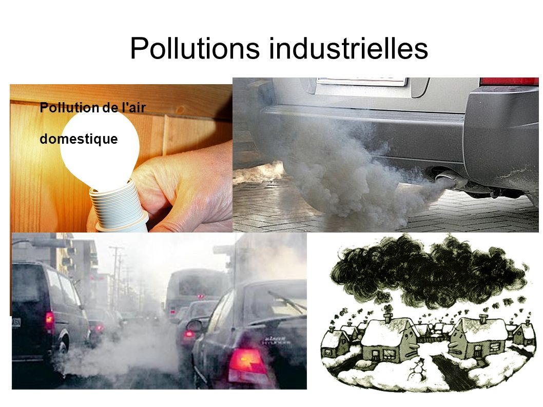 Pollutions industrielles Pollution de l'air domestique