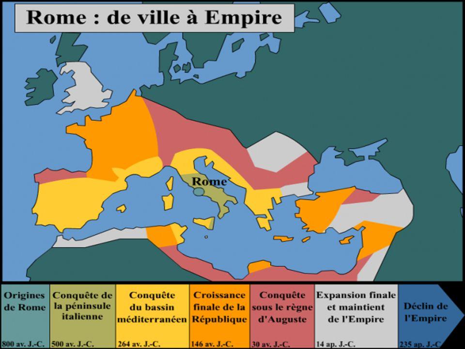 MODULE 4 – LA ROMANISATION OBJECTIF 2 – SITUER GÉOGRAPHIQUEMENT … TITRE : LE DÉVELOPEMENT DE ROME EN EUROPE.